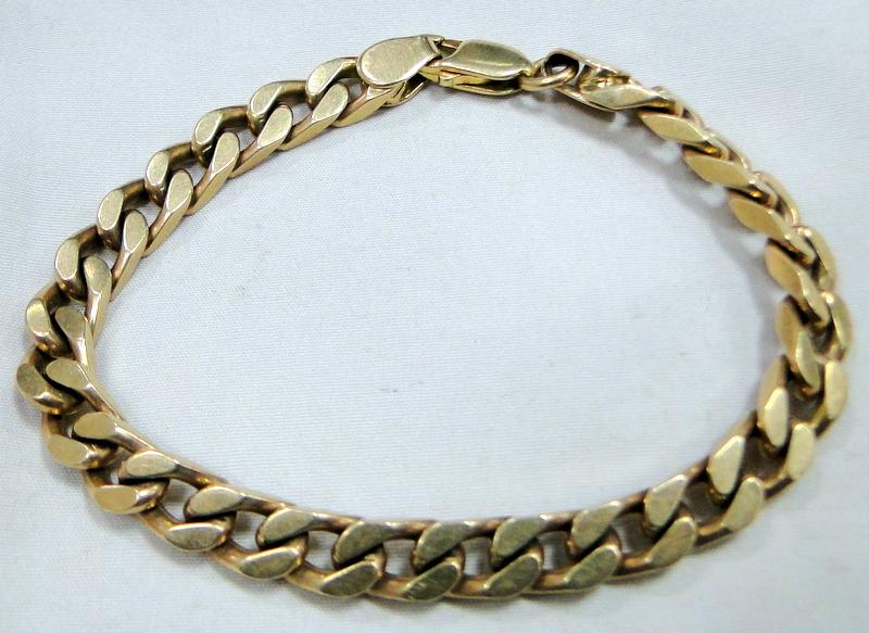Image Is Loading Men 039 S Gold Celet Vintage 9 K
